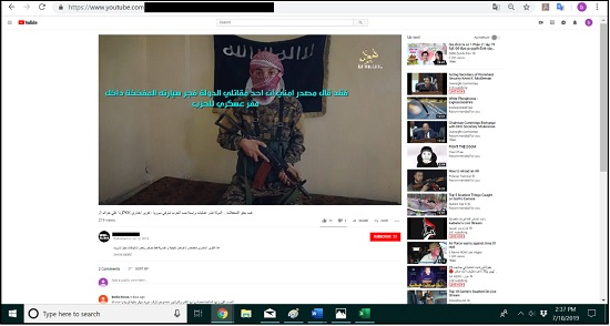 Extremist Content Online: Pro-ISIS Group Returns to YouTube