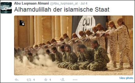 islamischer staat twitter